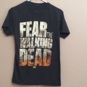 Other - Walking Dead Graphic black t-shirt
